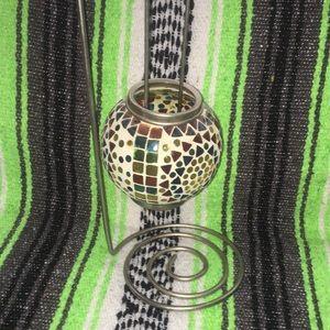 Mosaic Tea Light Holder